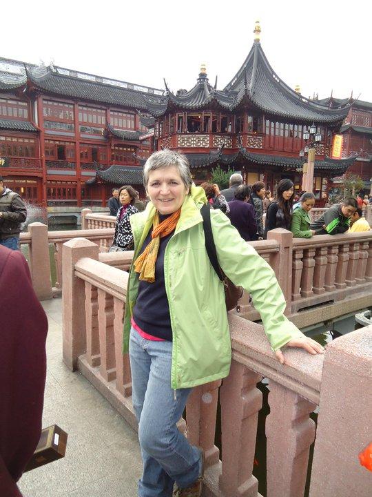 Sylvie Robert en Chine